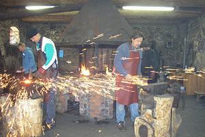 Õnneraua või naela valmistamine Sepa talus Rõuges