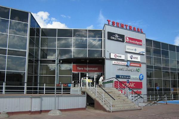 Das Einkaufszentrum Tsentraal