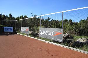Pivarootsi Väderkvarn, tennisbana