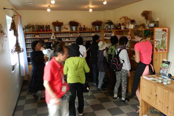 Herb garden shop at Tamme Farm