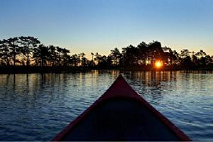 Viruna Farm - canoeing on bog lakes