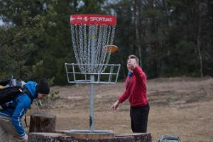 Discgolf-Parcours in Kõrvemaa
