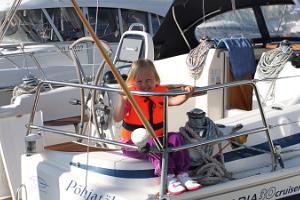 Segling till Kynö med segelbåten Põhjatäht