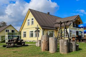 Kantine des Wander- und Skizentrums in Kõrvemaa