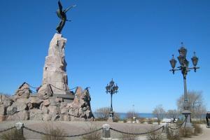 Denkmal für Amandus Adamson