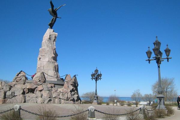 Monument of Amandus Adamson