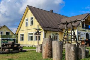 Gästehaus des Wander- und Skizentrums Kõrvemaa