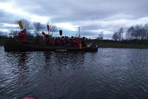 Izbrauciens ar kanoe laivām uz Keilas upes