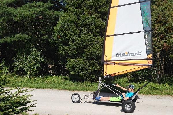 Blokarting (Land-Sailing) at Uuskalda Sports and Holiday Village