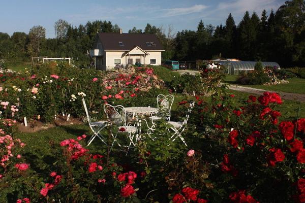 Karla ciemata dārzkopības saimniecību apmeklējums