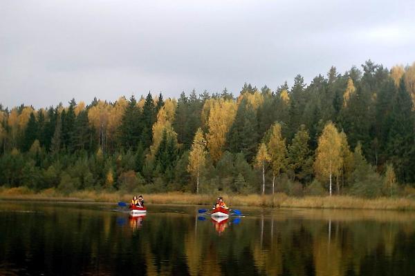 Kanuumatk Otepää ümbruses