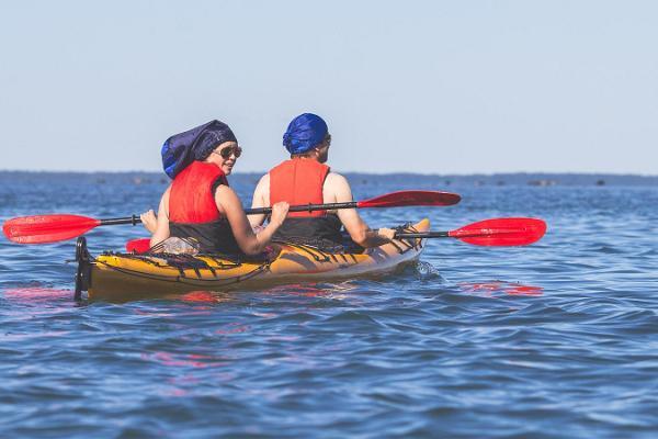 Two-day kayaking trip around the islets of Hiiumaa