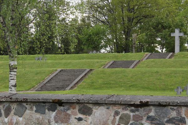 Der deutsche Soldatenfriedhof in Viljandi