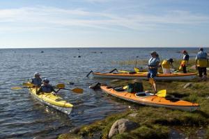 Süstaretk Lääne-Saaremaa rannikumerel, laidudel ja rannas