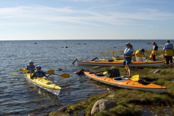 Kayaking in Western Saaremaa