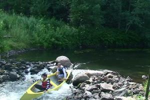 Kanutouren von Tammekännu auf dem Fluss Ahja