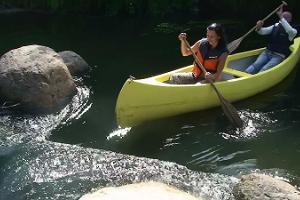 Tammekännu rīkotie kanoe braucieni pa Vehandu upi