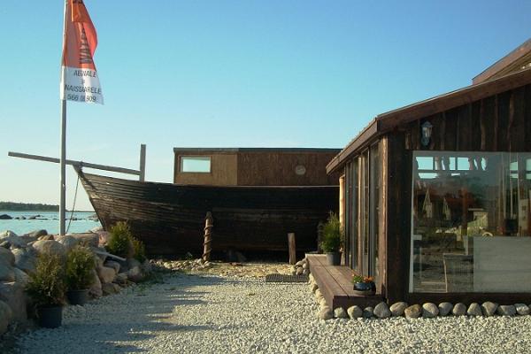 1 hour RIB safari and Captain's house/ship-sauna in Rohuneeme Harbour