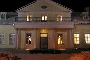 Säle des Herrenhauses Koigi