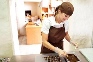 Шоколадное кафе Аннели Виик