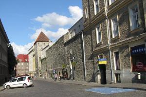 Müürivahe iela Tallinas vecpilsētā