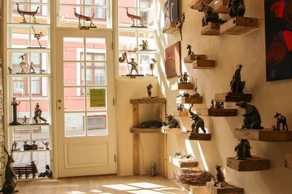 Tauno Kangro's Sculpture Gallery