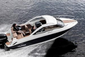 By a speedboat to Aegna