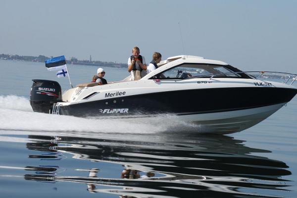 Huviajelu veneellä Tallinnanlahdella