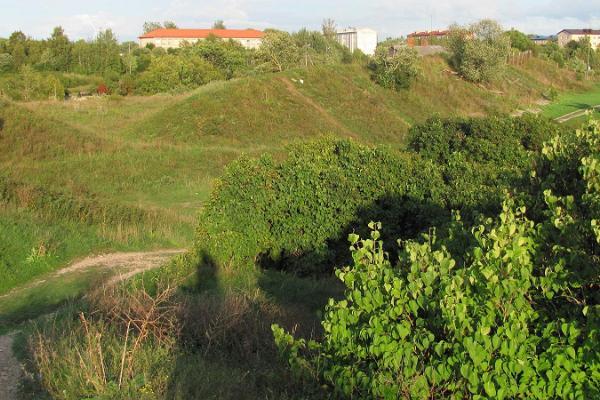 Pietari Suuren merilinnoituksen bastioni eli Muulan mäet