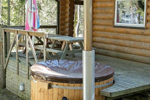 "Sauna houses of the recreation center ""Valkla Rand"""