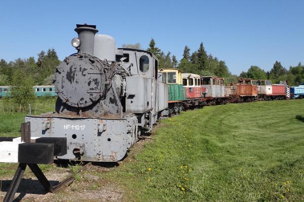 Igaunijas Dzelzceļa muzejs Lavassārē