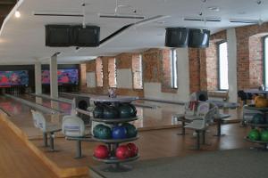 Bowlingsaal bei Pühajärve
