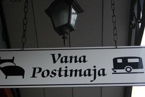 Vanhan Postitalon kotimajoitus