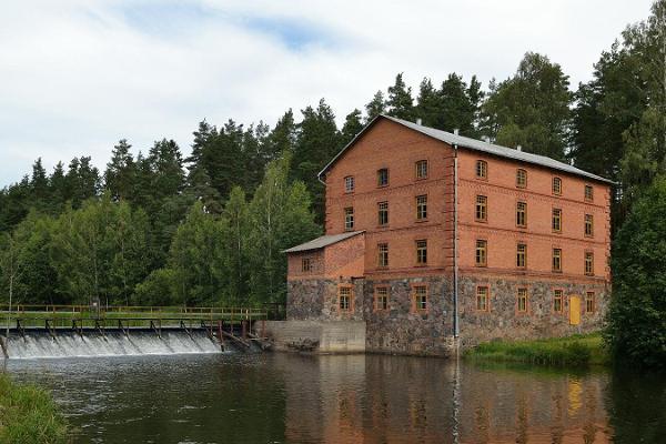 Wassermühle von Kiidjärve
