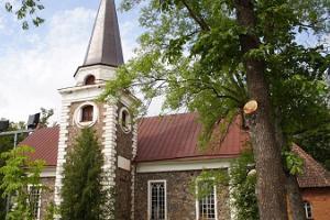 St John's Lutheran Church in Kanepi