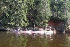 """Многодневные походы на каноэ от """"Livonia Matkad"""" по живописной реке Салатси с сопровождающим"""