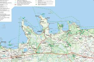 Nationalpark Lahemaa und Infopunkt