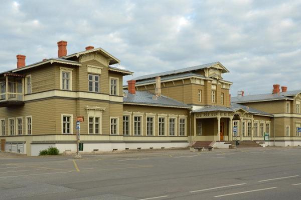Тартуский железнодорожный вокзал