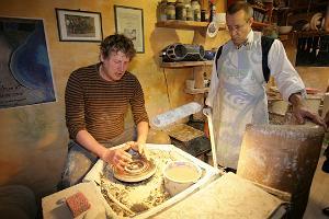 Мастерская керамики Горшечного завода Эдди в Гильдии Марии Магдалины