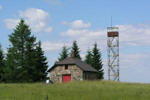 Simisalu observation tower and camping area