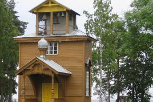 Das Gebetshaus der Altgläubigen in Rajaküla