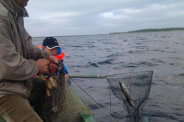 Kalastus kahdelle Lauri-Antsun tilalla