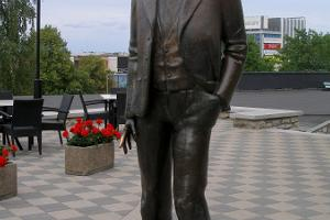 Sculpture of Karl Menning