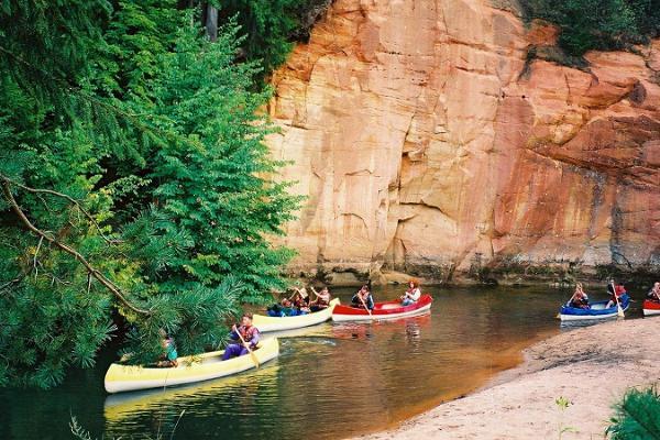 Veetee rafting ja kanuumatkad