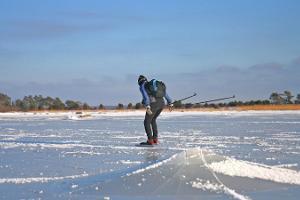 Поход на коньках по заливу Хаапсалу