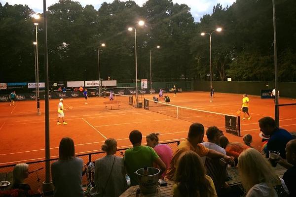 Корты теннисного клуба Pärnu Kesklinna Tenniseklubi