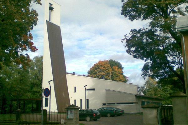 Тартуская церковь Святого Луки Эстонской методистской церкви (ЭМЦ)