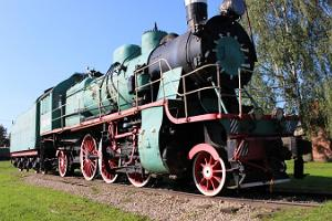 Denkmal Lokomotive