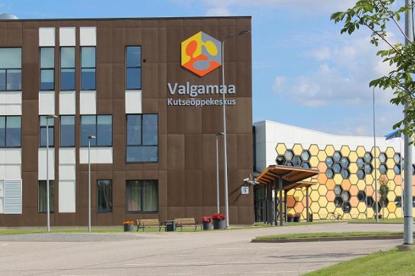 Seminar rooms at the Valga County Vocational Training Centre