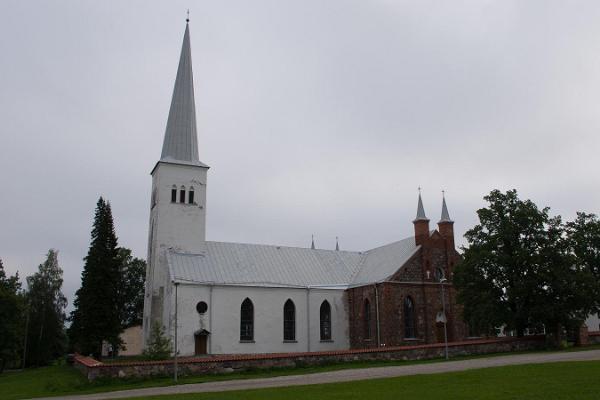 Die EELK Kirche in Kambja